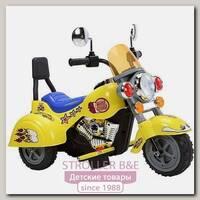 Электромотоцикл JiaJia B19 6V, 3-6 лет, с музыкой