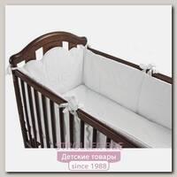 Комплект постельного белья Micuna Juliette Микуна Джулиет ТХ-1590 в кроватку 120 х 60 см, 6 предметов