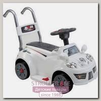 Электроминикар JiaJia B21 6V White/Black, 3-6 лет, с музыкой и дистанционным управлением