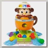 Развивающая игрушка Bright Starts Брайт Стартс Обезьянка в Бочке