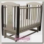 Детская кроватка Соня 05 Девочка, продольный маятник, без ящика
