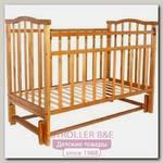Детская кроватка Агат Золушка-5 продольный маятник