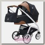 Детская коляска Rant Wave 2 в 1, ткань+эко-кожа