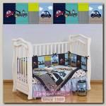 Комплект в кроватку Giovanni Shapito Transportation Джованни Шапито Транспортейшн, 7 предметов