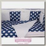 Комплект белья в кроватку WB AmaroBaby Baby Boom Белые Медведи, 3 предмета