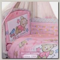 Комплект в кроватку Золотой Гусь Zoo Bear 7 предметов 60х120 см