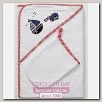 Детское полотенце-уголок + варежка Funnababy Marine Фаннабэби Марин 90 х 90 см