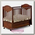 Детская кроватка Baby Italia Gioco LUX продольный маятник