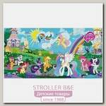 Коврик-пазл Играем Вместе Дисней My Little Pony, 8 сегментов, 31,5 х 31,5 см,6/FS-MLP