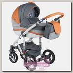Детская коляска BeBe-Mobile Movo A 3 в 1, ткань+эко-кожа