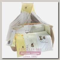 Комплект постельного белья Kidboo Little Bear 6 предметов