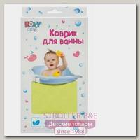 Антискользящий резиновый коврик Roxy Kids Рокси Кидс для ванны 34 х 74