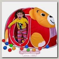 Детская палатка Calida Мишка + 100 шаров