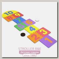 Игровой коврик-пазл Funkids 12' Классики-1 KB-103A с цифрами, 10 плит