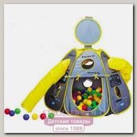 Детская палатка Calida Космический Корабль + 100 шаров