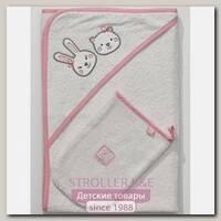 Детское полотенце-уголок + варежка Funnababy Lily Milly 90 х 90 см