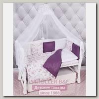 Комплект постели в кроватку AmaroBaby Амели, 18 предметов