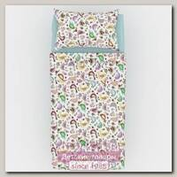 Детское постельное белье Ухти Пухти Птички, размеры на выбор