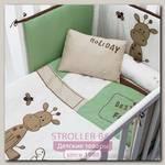 Комплект постельного белья для кроватки Bambolina Holiday