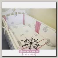 Комплект в кроватку ByTwinz Морской бриз, 6 предметов