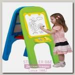 Детская доска магнитная двусторонняя Edu Play для рисования 2 маркера+губка