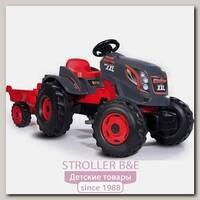 Трактор педальный Smoby XXL 710200 с прицепом