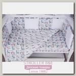 Комплект белья в кроватку WB AmaroBaby Baby Boom Ламы, 3 предмета