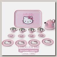 Набор металлической посудки Smoby Hello Kitty 24783, 14 предметов