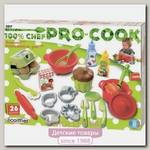 Набор посудки с продуктами Ecoiffier 100% Chef 2617, 26 предметов