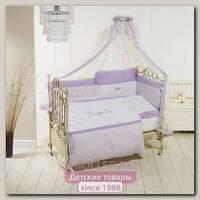 Комплект Orsetti 6 предметов long борт на всю кроватку