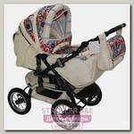 Детская коляска-трансформер Kacper Tessuto Орнамент