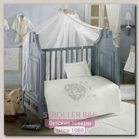 Комплект постельного белья Kidboo Valentine Saten Vanilla 6 предметов