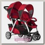 Детская прогулочная коляска для двойни Chicco Together Twin