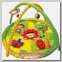 Детский игровой коврик с игрушками La-Di-Da Весёлая Полянка