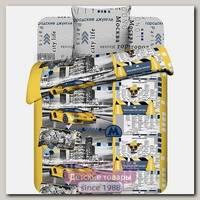 Детский комплект постельного белья ТМ Василек Твой Стиль Столичный Пижон ВАС_5292/1, бязь