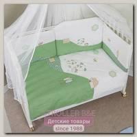 Комплект постельного белья Feretti Dogs 6 предметов long борт на всю кроватку