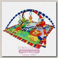 Детский игровой коврик с игрушками La-Di-Da Весёлый Зоопарк (PM-A-P00019)
