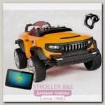 Электромобиль джип-внедорожник RT Broon Henes полноприв. со встроен. планшетом Android 24V
