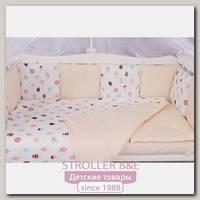 Комплект белья в кроватку WB AmaroBaby Baby Boom Эскимо, 3 предмета