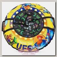 Надувные санки-ватрушка-тюбинг Cosmic Zoo UFO