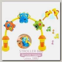 Игрушка Chicco Танцующие животные для коляски