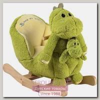 Детская качалка с куклой-малышом Rock My Baby Family Динозаврик