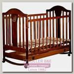 Детская кроватка Наполеон new колесо+качалка, с ящиком