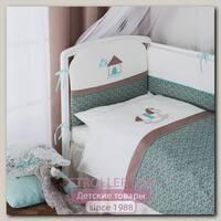 Комплект постельного белья Perina Жила-была Лошадка, 4 предмета