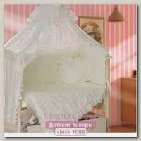 Комплект постельного белья Мой Ангелок Любимый Б 2037 в кроватку, 7 предметов