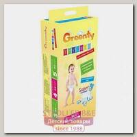 Одноразовые детские подгузники Greenty 4 Гринти 9-14 кг, 44 шт.