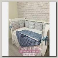 Комплект постели для прямоугольной кроватки Marele Подводный Мир 460250-пр, 18 предметов