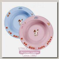 Глубокая тарелка Avent 230 мл, 6 м+ (SCF706/01)