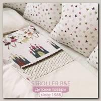 Комплект постели для прямоугольной кроватки Marele Принцессы 460043-12, 17 предметов