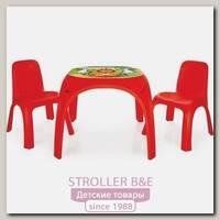 Детский стол Pilsan King + 2 стула, 03-422